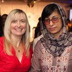 Professor Carolyn McGregor AM and Nasima Rahmani