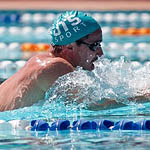 Swimmer in UTS cap