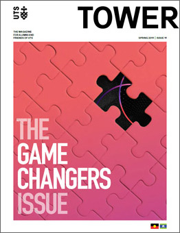 Cover of Issue 19 of Tower Magazine